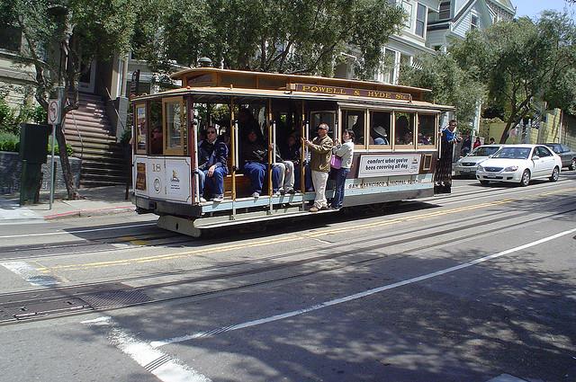 powell street trolley cars