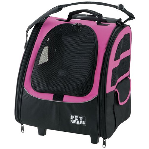 Pet Gear I Go Traveler Roller Backpack For Cats And Dogs