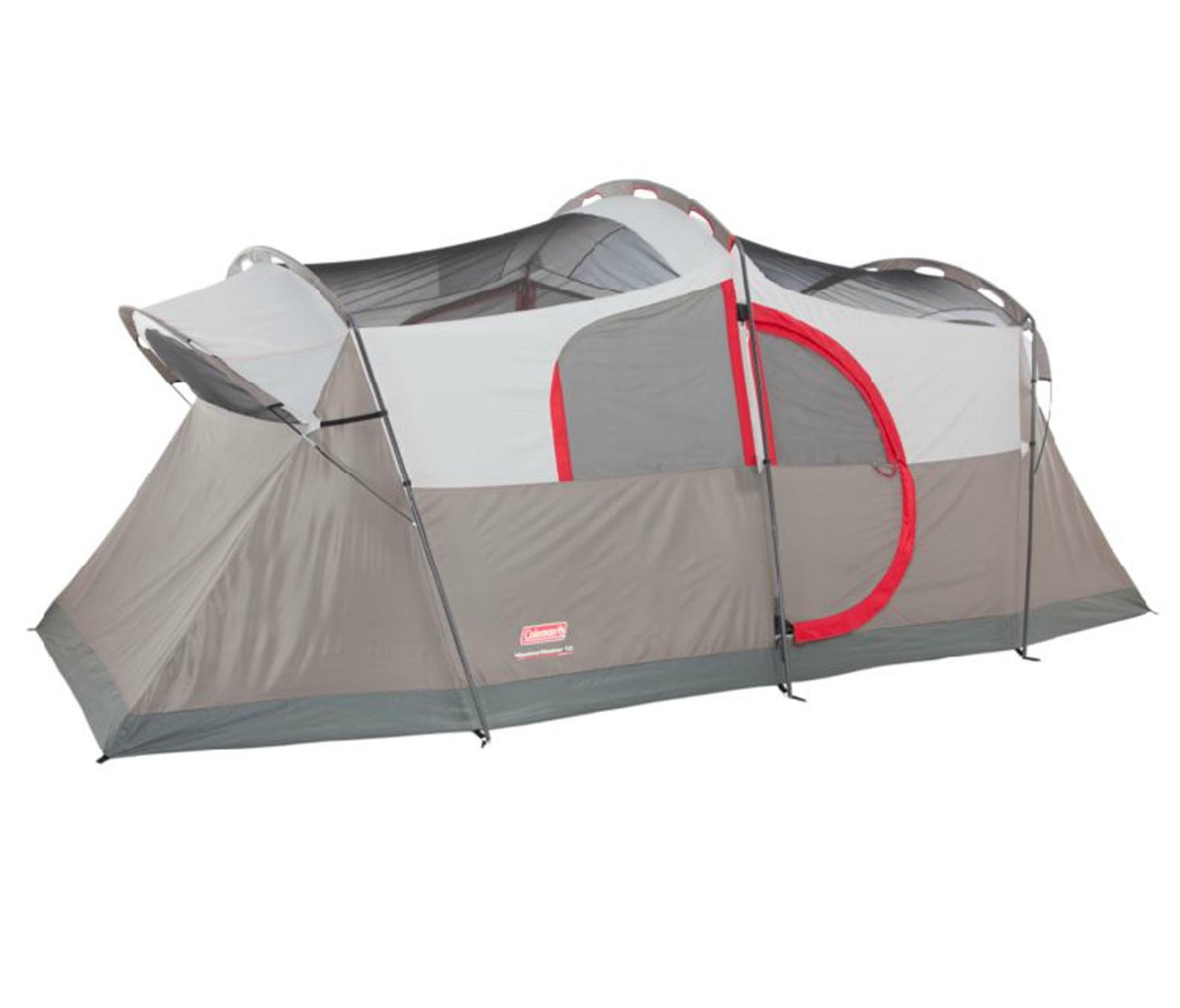 Coleman Weathermaster 10 Person Hinged Door Tent Review - Traveling Monarch  sc 1 st  Traveling Monarch & Coleman Weathermaster 10 Person Hinged Door Tent Review ...