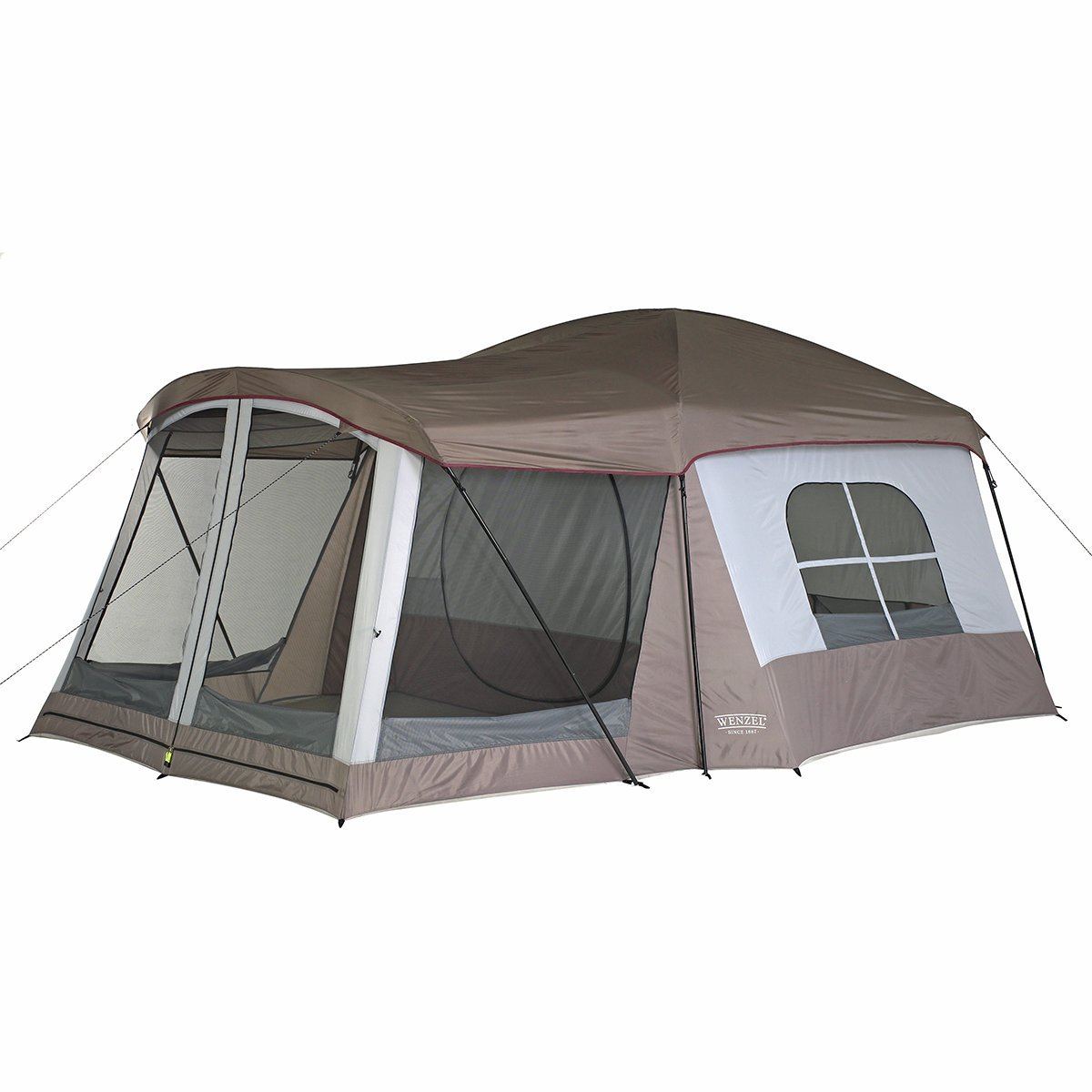Wenzel Klondike Eight-Person Family Cabin Dome Tent Review - Traveling Monarch  sc 1 st  Traveling Monarch & Wenzel Klondike Eight-Person Family Cabin Dome Tent Review ...