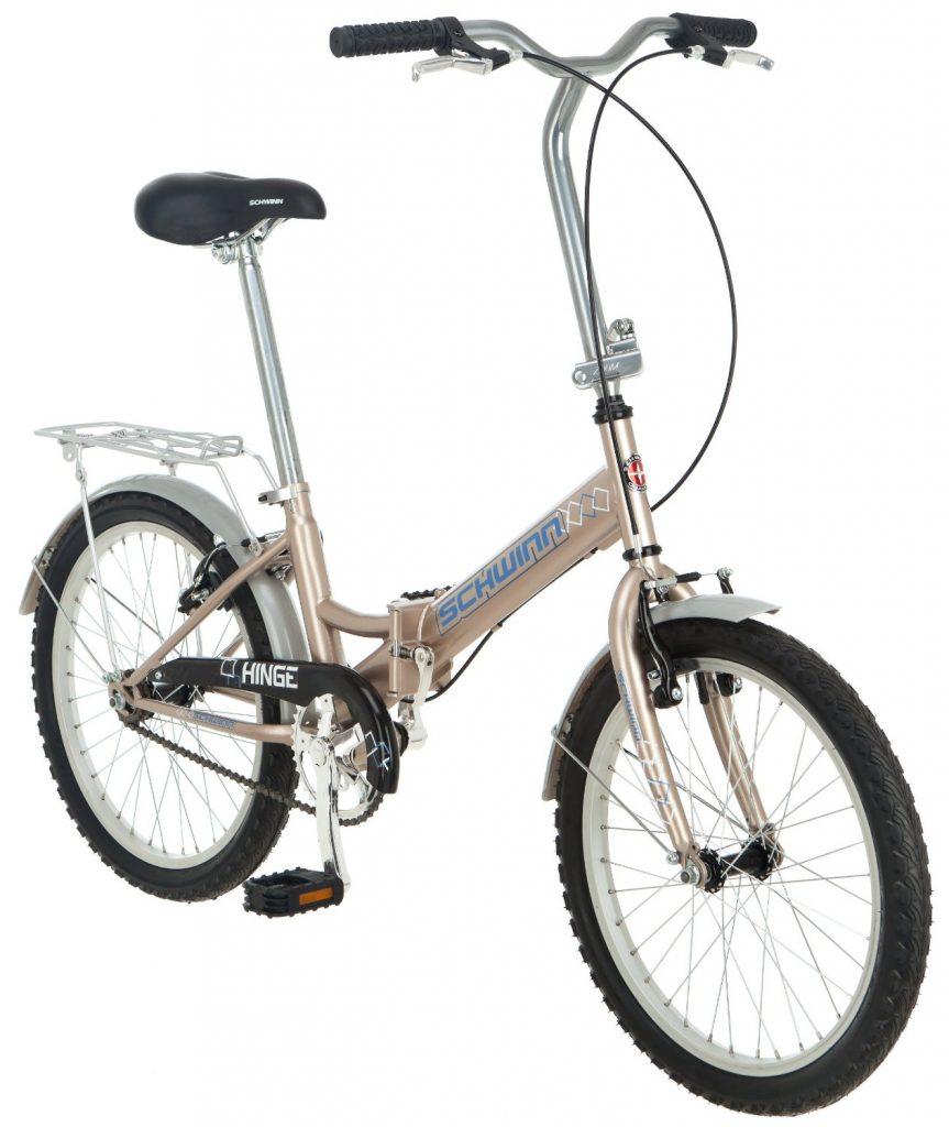 Schwinn Hinge Folding Bike Review Traveling Monarch
