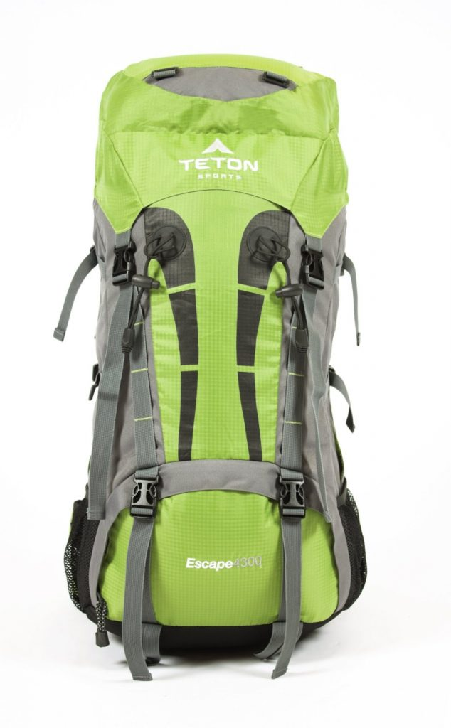 how to pack a teton scout 3400
