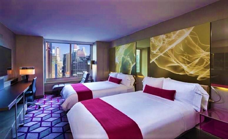 W Hotel New York Times Square Restaurant