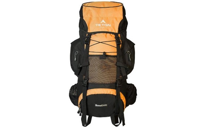 TETON Sports Scout 3400 Internal Frame Backpack Review - Traveling ...